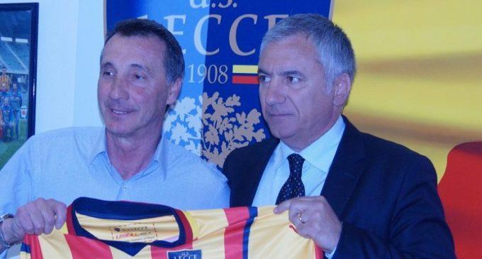 """Il Lecce conferma Rizzo: """"Flessibilità tattica"""". Meluso: """"Mai pensato di andare via"""""""