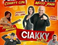 Il Ciakky Show approda a Sava: domani sera in Piazza San Giovanni va in scena il varietà itinerante