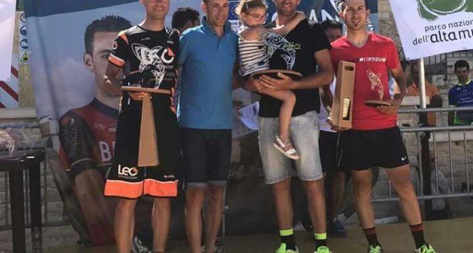 Ciccarese della Leo Constructions sul podio della prestigiosa GF Vincenzo Nibali