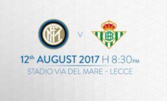 """Inter – Betis Siviglia al """"Via del Mare"""""""