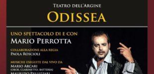 """""""Odissea"""", questa sera Mario Perrotta sul palco di """"Mitika"""""""