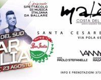 """Il """"Bar Italia"""" fa tappa al Malè Costa del Sud con Vanny dj"""