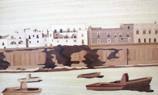 Il Castello Acquaviva d'Aragona ospita la mostra di tarsie di Antonio Gerbino