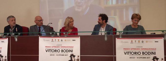 """Quarta edizione del Premio Letterario Internazionale """"Vittorio Bodini"""": sabato sera la premiazione all'Apollo"""