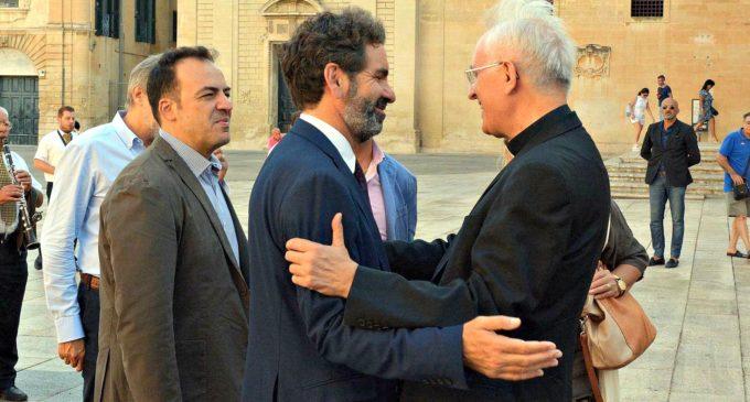 Domani il conferimento della cittadinanza onoraria a Sua Eccellenza Mons. Domenico D'Ambrosio