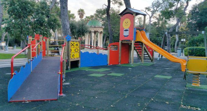 Un parco giochi inclusivo nella Villa Comunale donato al Comune di Lecce