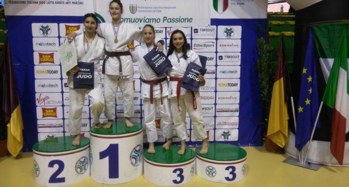 ASD Judo Club Ruffano sul podio con l'oro di Giorgia Paglialonga