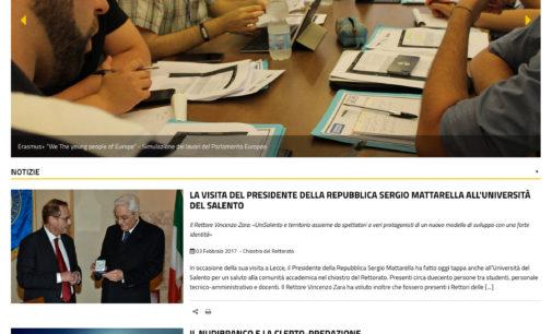 Giornata della Trasparenza: l'UniSalento presenta il nuovo sito