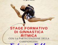Ginnastica, la campionessa Federica Febbo a Martignano per stage Uisp