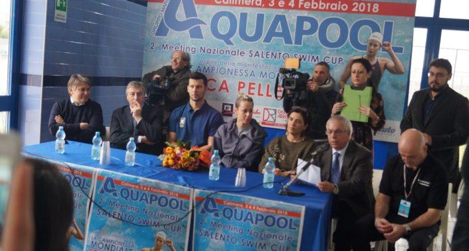 """Federica Pellegrini a Calimera e Melendugno: """"Emozionata per l'affetto dei salentini"""""""
