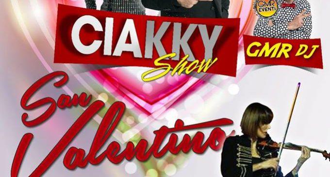 Un San Valentino romantico e divertente in compagnia del Ciakky Show al Ristoppia