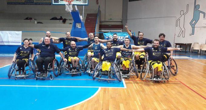 Basket in carrozzina, Serie B: Boys Taranto Basket – Lupiae Team Salento: 38-68