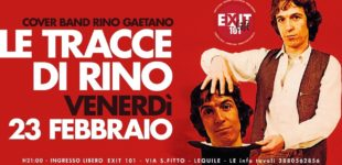 """""""Le tracce di Rino"""" in concerto all'Exit 101 Cafè in onore del grande Gaetano"""