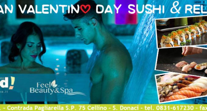 A San Valentino sushi e relax con FeelGood