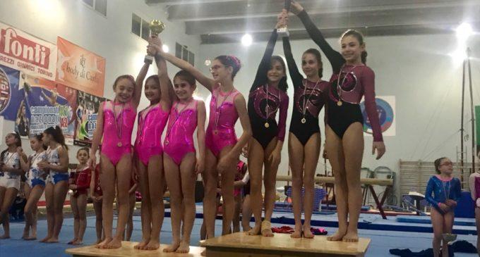 Ginnastica artistica, la Delfino conquista l'argento ai campionati regionali