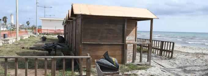 Lido Salapia di San Cataldo, al via i lavori di demolizione