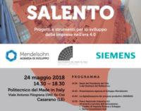 Oggi a Casarano: Politecnico del Made in Italy, Agenzia di Sviluppo Mendelsohn e Siemens insieme per un Salento più competitivo