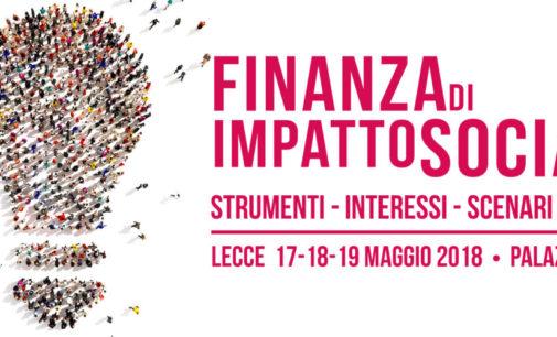 A Lecce tre giornate di studio sulla Finanza di Impatto Sociale. Ospite anche il sottosegretario del nuovo dicastero allo Sviluppo Umano, istituito da Papa Francesco