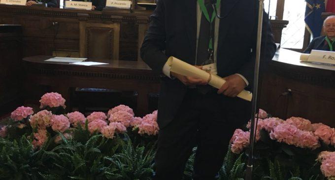 Massimiliano Apollonio nominato membro dell'Accademia dei Georgofili
