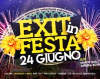 """""""EXIT IN FESTA"""" CON IL SOUND ESPLOSIVO DI MARCO ROLLO E ANDREA BOTRUGNO DJ"""