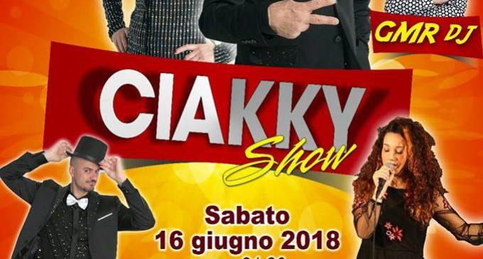 Sabato si ride con il Ciakky Show a Lizzanello