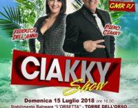 Il Ciakky Show a Torre Dell'Orso per un lungo pomeriggio di risate
