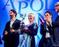 """Premio Apollonio 2018 a Helen Mirren: """"Tutti uniti per salvare gli ulivi dalla catastrofe"""""""