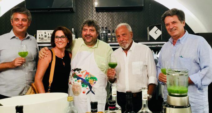 Rocco Papaleo  e Antonio Caprarica conquistano il pubblico del Mercatino