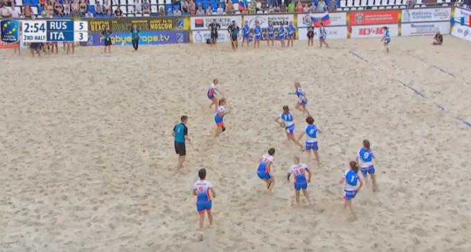 Beach Rugby, Europeo femminile di Russia: l'Italia guidata da Fabio Manta chiude al secondo posto