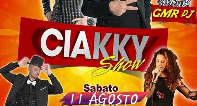 Il Ciakky Show fa tappa a Lizzanello