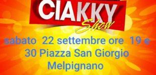Il Ciakky Show approda a Melpignano