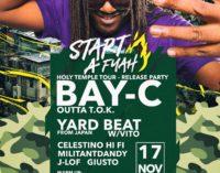 Il reggae di Bay-C all'Exit 101 Cafè con Celestino Hi Fi, Militantdandy, J-Lof e Giusto