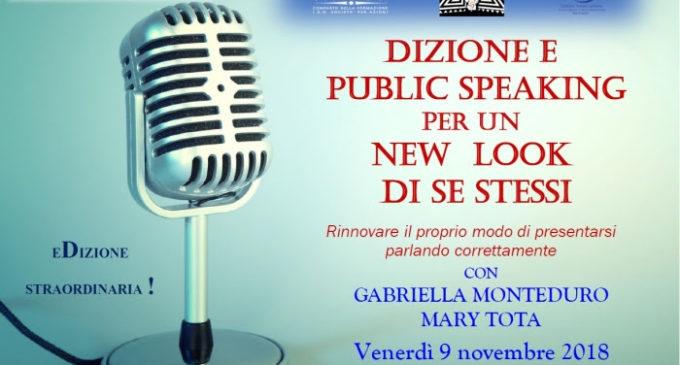 Corso di dizione e public speaking: domani l'evento di Formigo in collaborazione con Laica