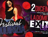 """""""FESTIVAL LIQUIRIZIA"""" ALLA DOMENICA EXIT COL SOUND DI MARCO ROLLO E ANDREA BOTRUGNO DJ"""