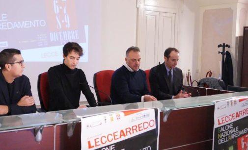 Presentata la 28esima edizione di LecceArredo, il Salone Nazionale dell'Arredamento dal 6 al 9 dicembre presso Lecce Fiere