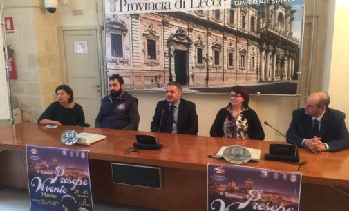 Presentato il Presepe di Matino: più di 150 figuranti nel centro storico