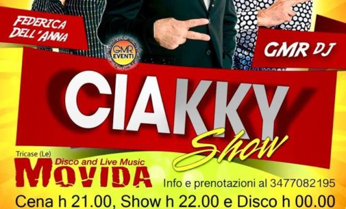 Al Movida si ride con il Ciakky Show e si balla in seconda serata
