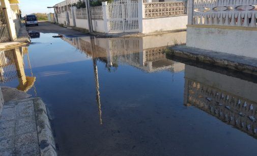 Torre Chianca, residenti bloccati a casa per l'esondazione dei canali. La denuncia di Daniele Biasco