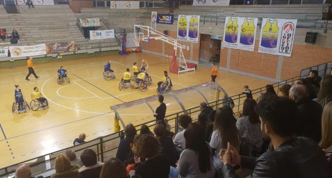 Basket in carrozzina, Serie B. Lupiae Team Salento – Bic Reggio Calabria: 34-61